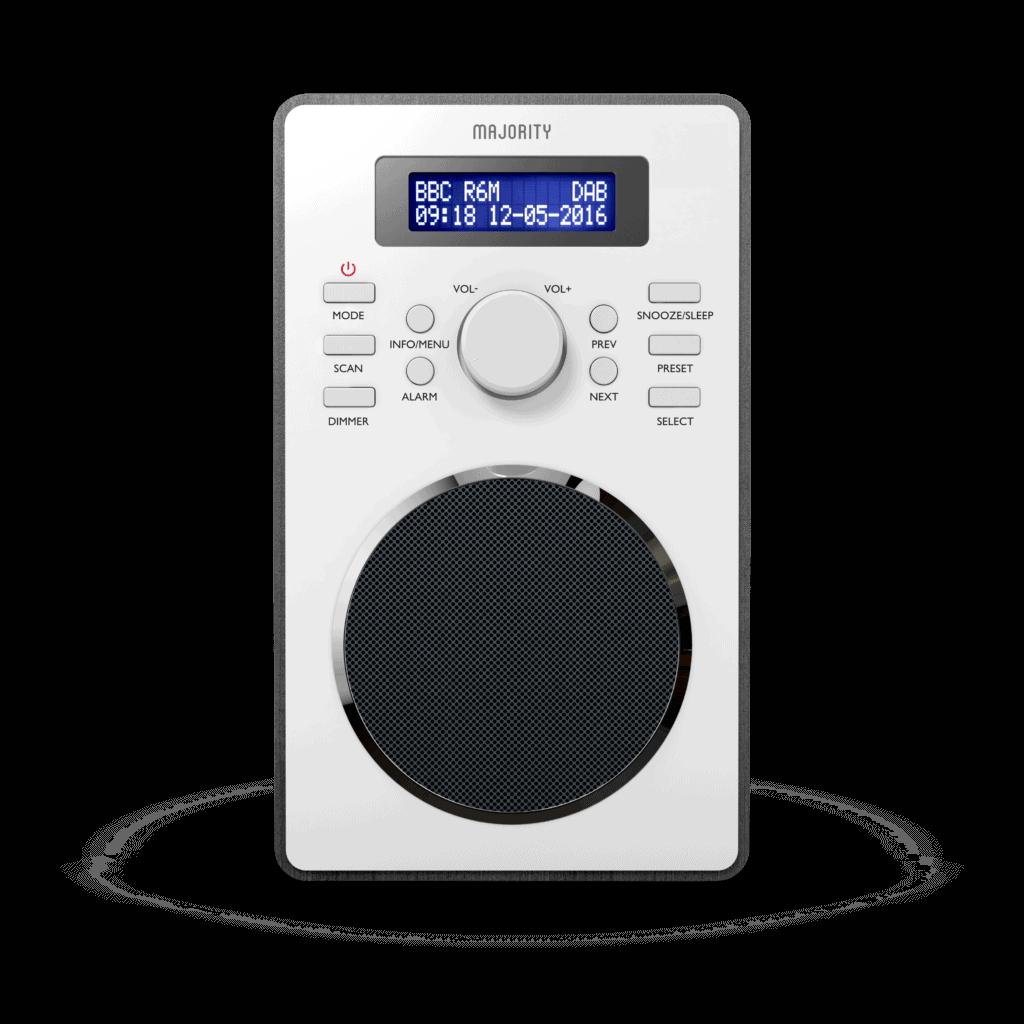 DAB Digital Radio - Barton Transparent Black