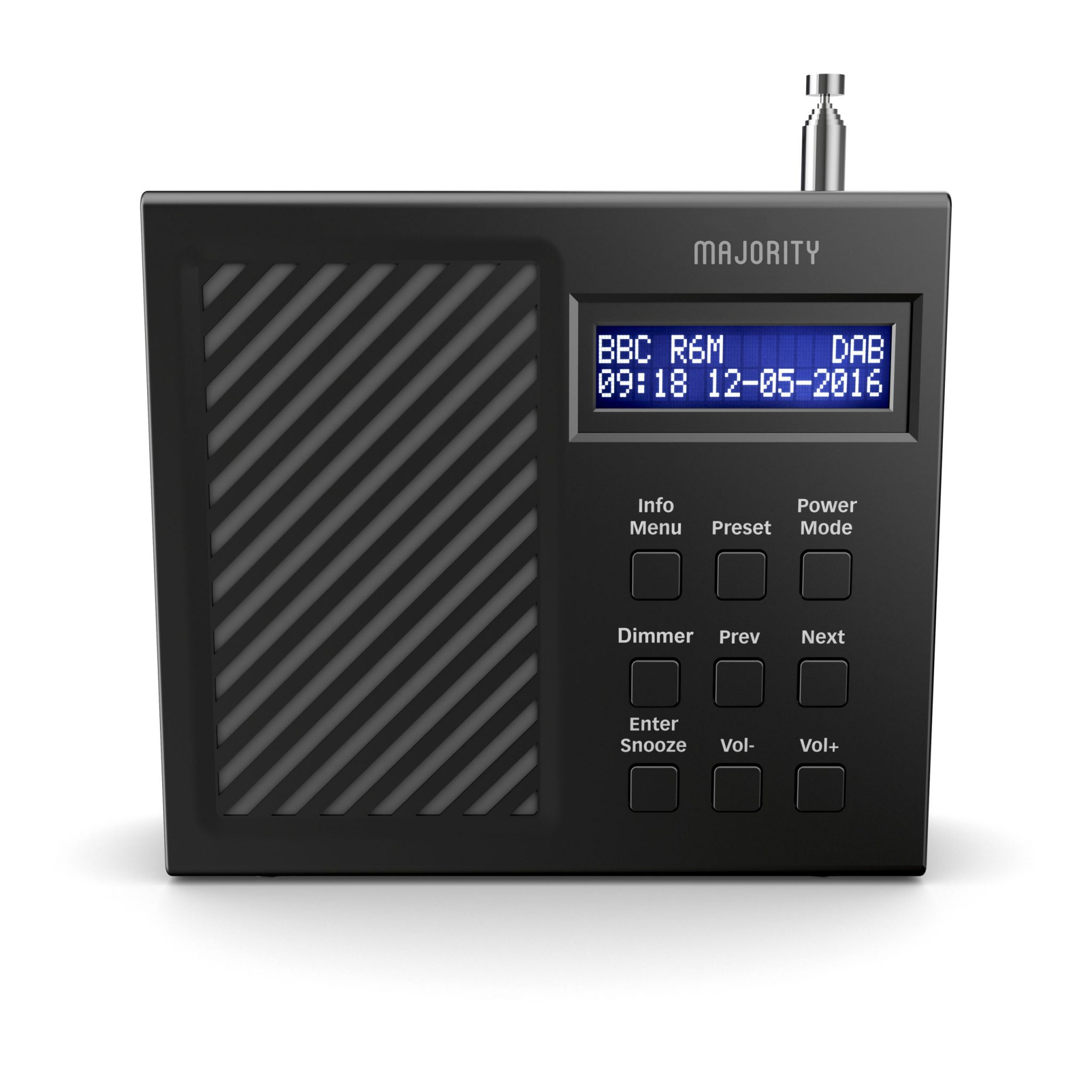 DAB Radio Alarm Clock - Arbury