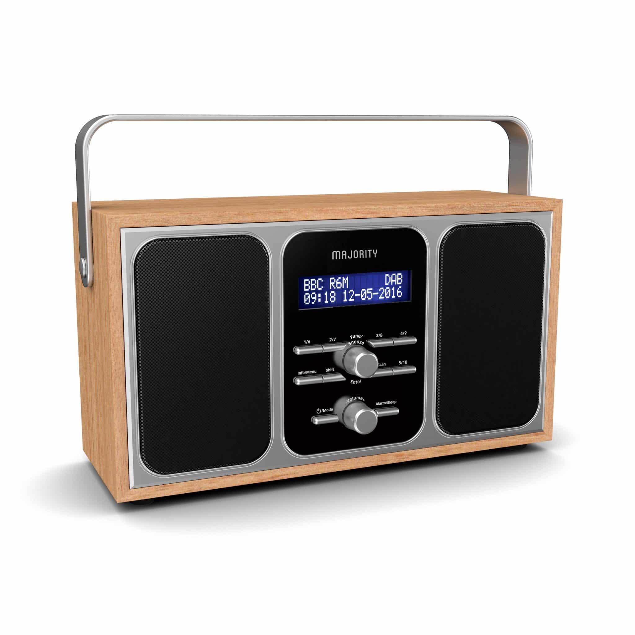Portable DAB Radio - Girton Angled 2