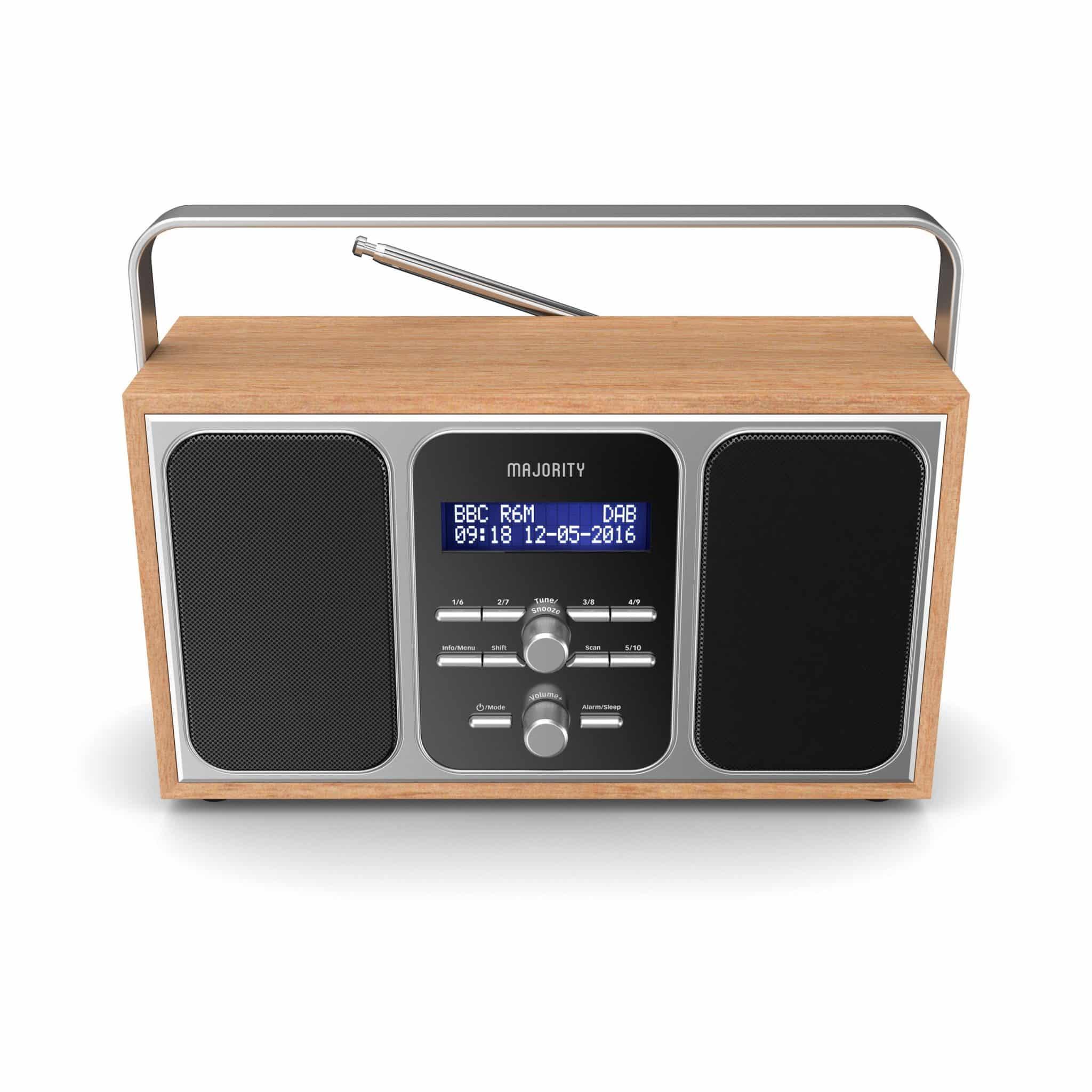 Portable DAB Radio - Girton Top