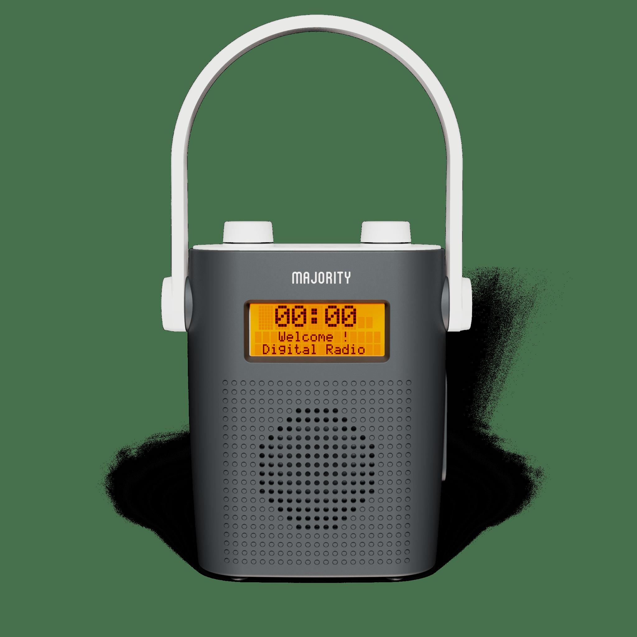 DAB Shower Radio - Eversden Grey