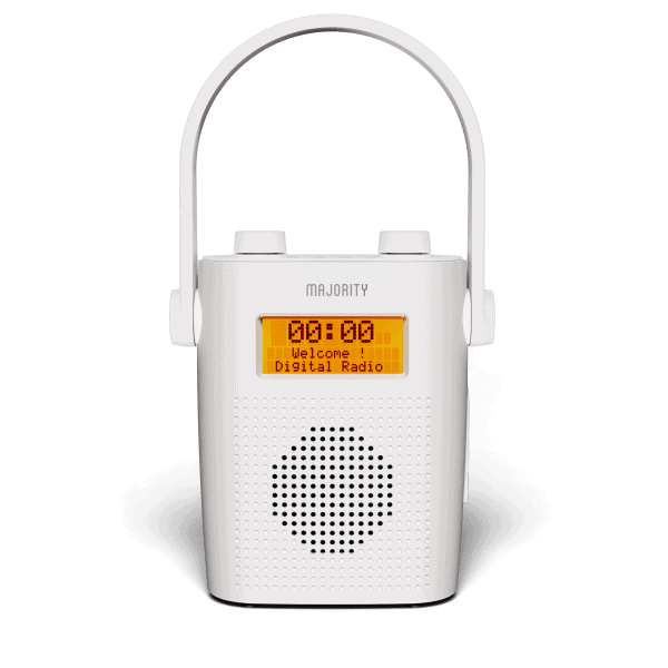 Shower Radio - Eversden White