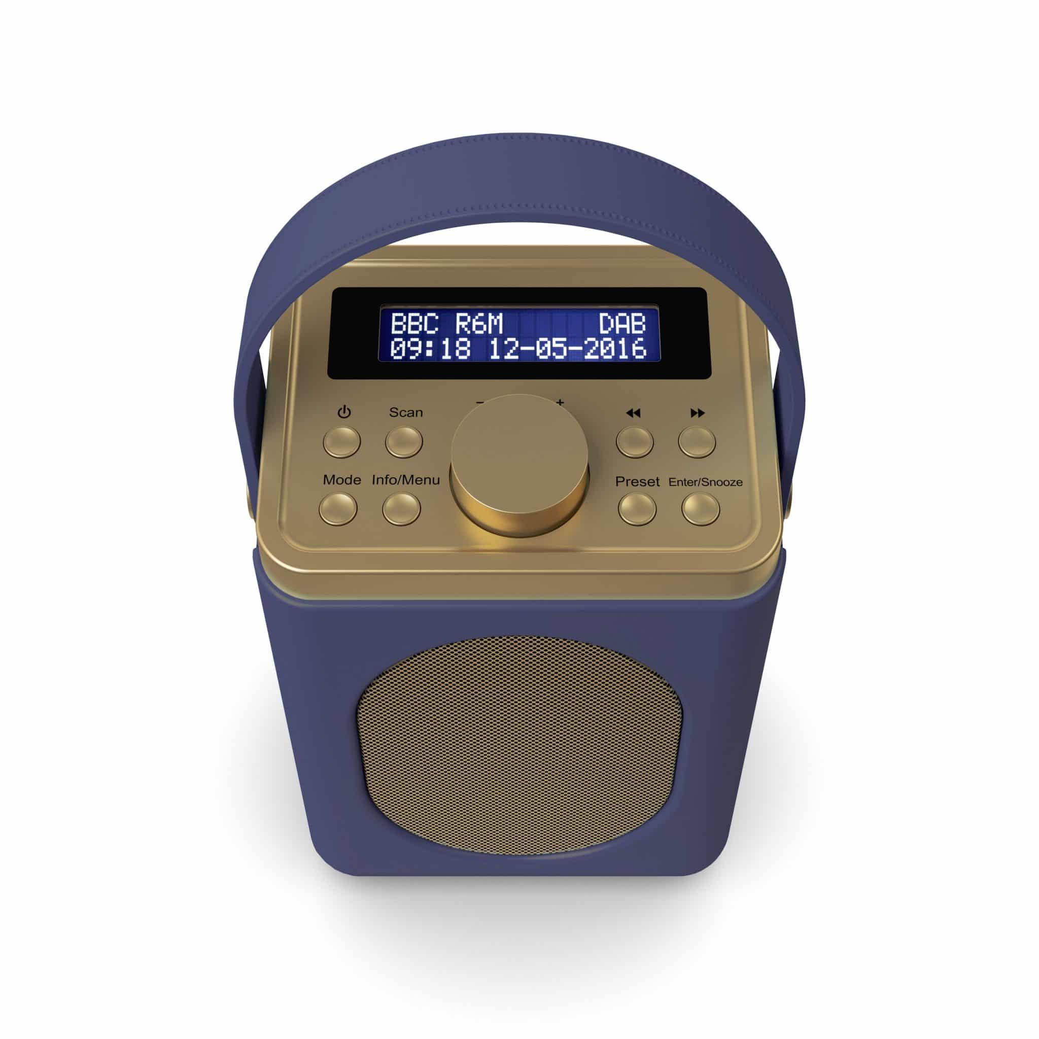 DAB Radio with Bluetooth - Little Shelford Midnight Blue Top