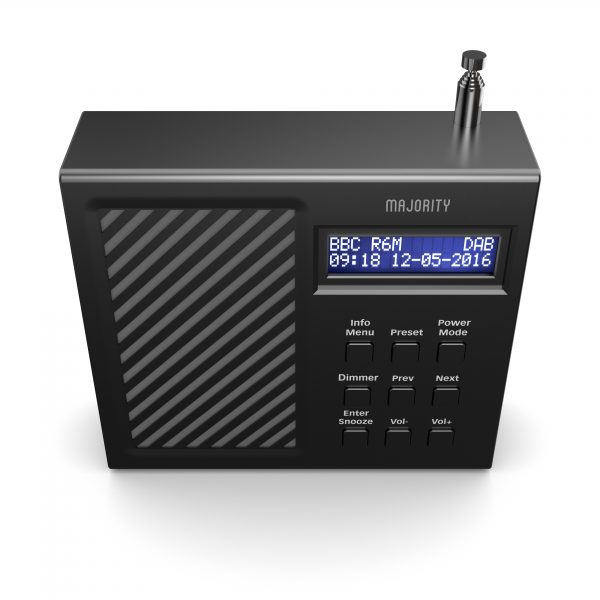 DAB Radio Alarm Clock - Arbury Top