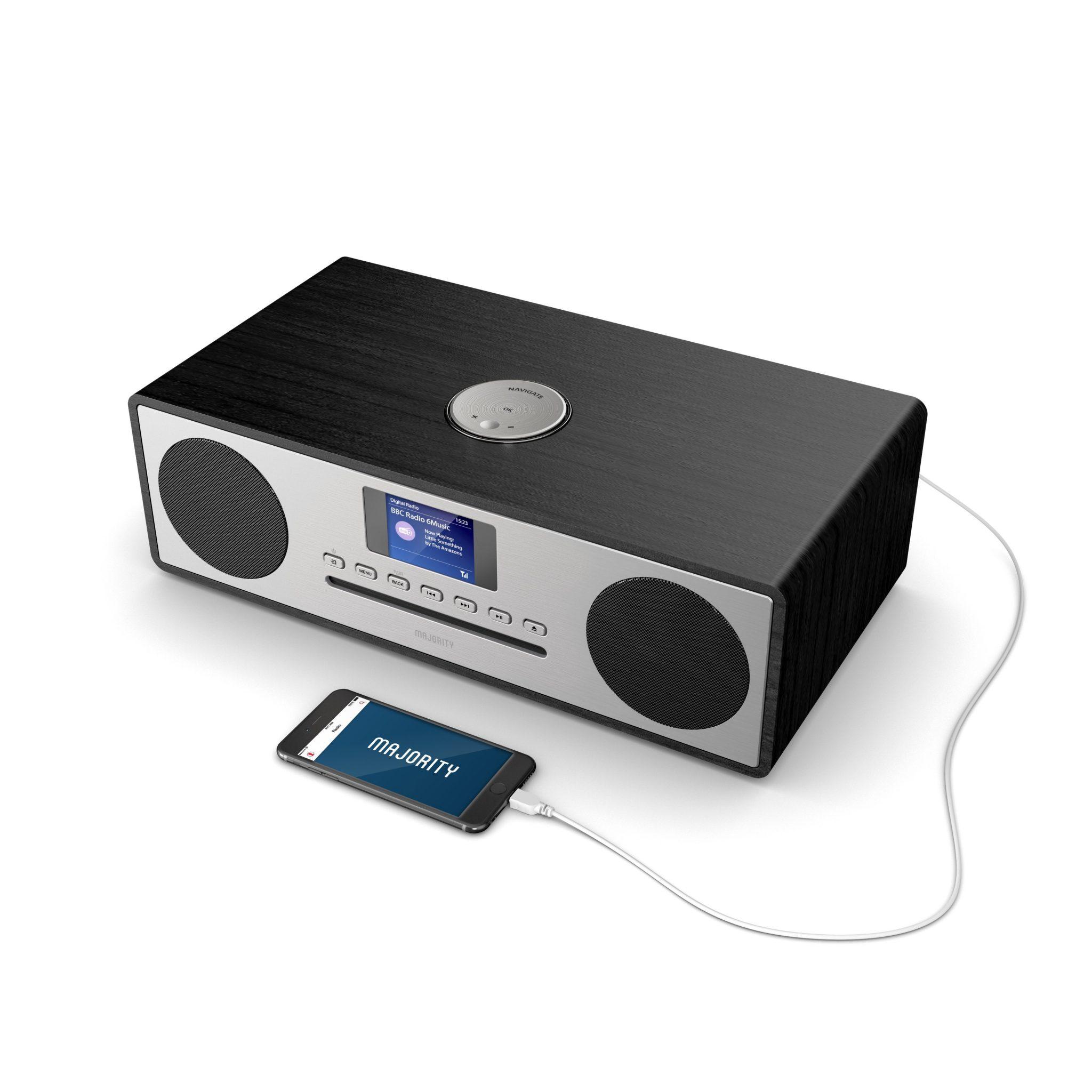DAB Radio Music System - Oakington CD Player