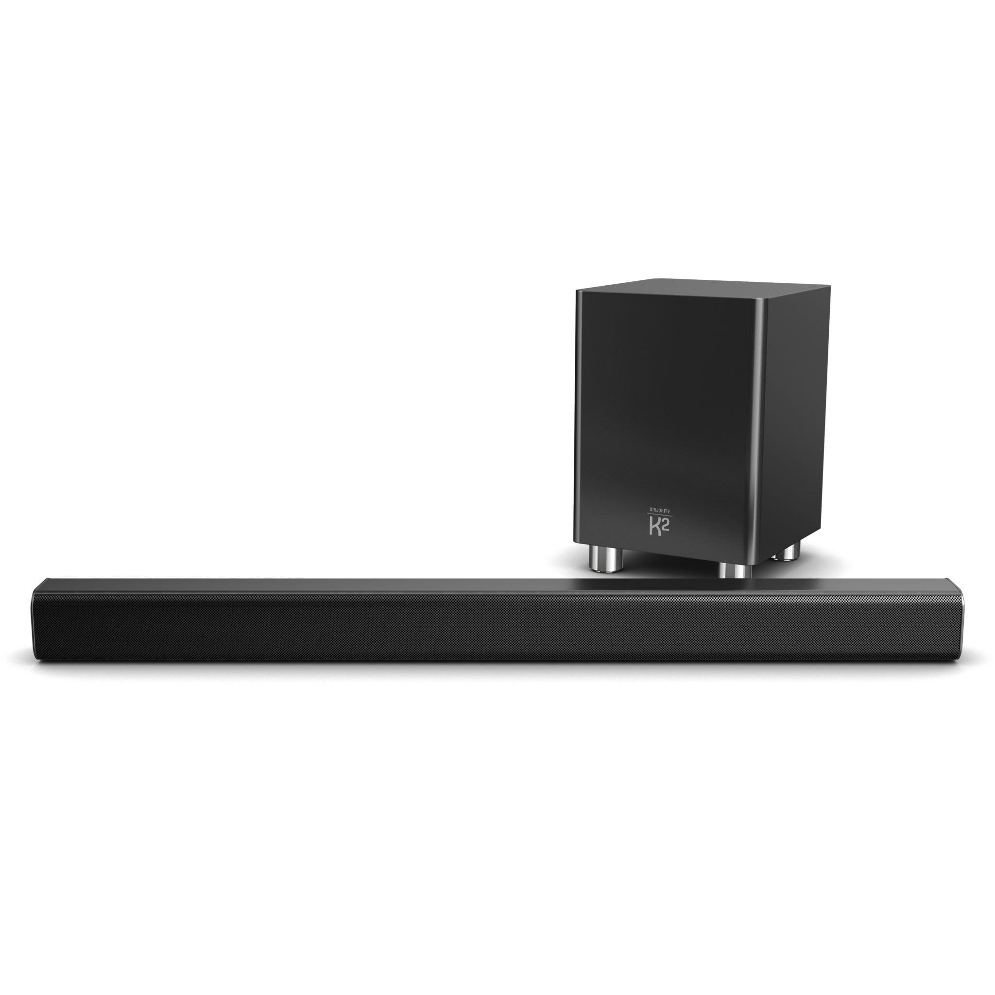 TV Sound Bar with Subwoofer - K2 Black Front