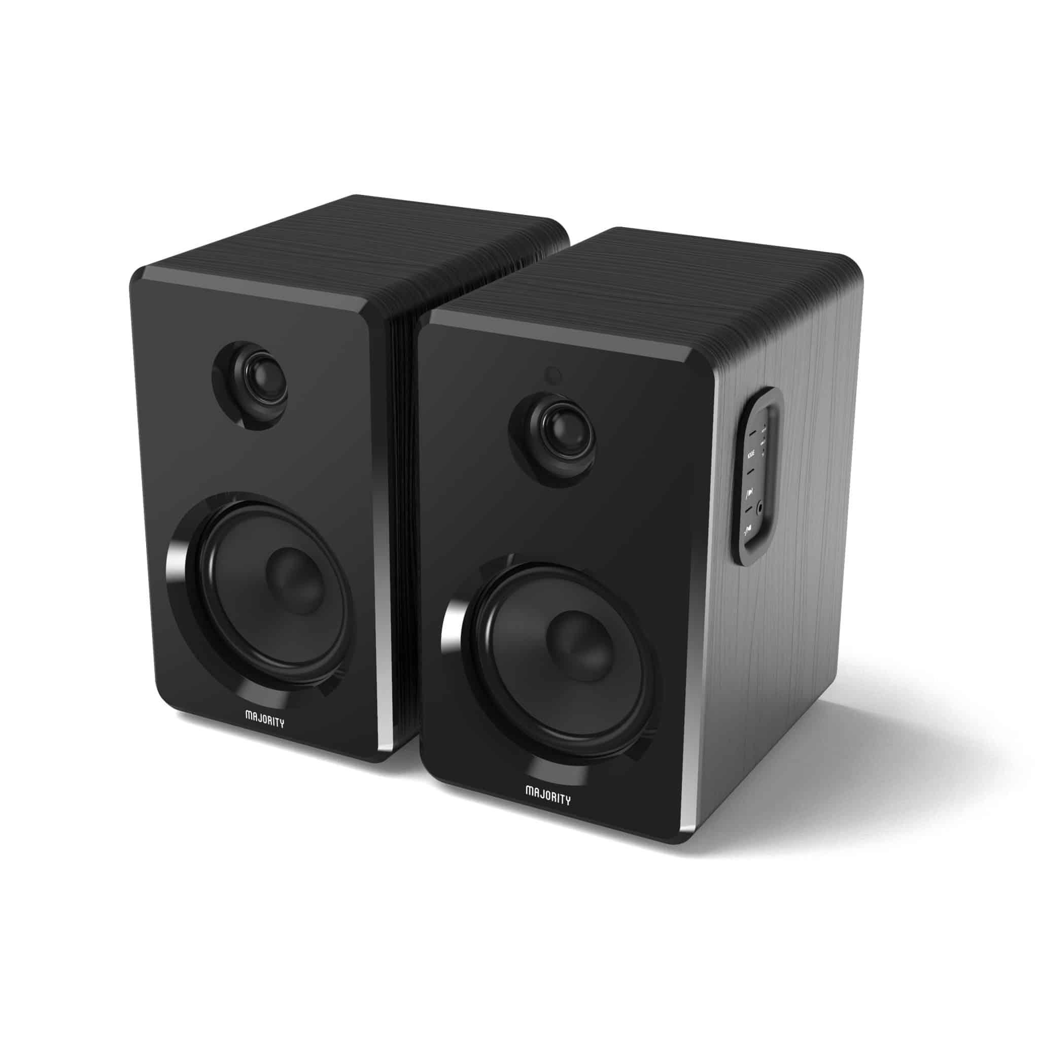 Bookshelf Speakers - D40 Active Speakers Angled