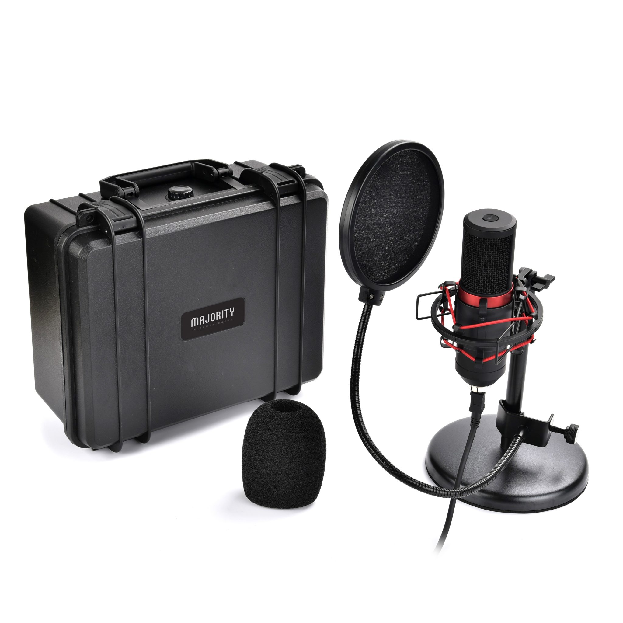 USB Microphone - RS Pro Microphone with Stand