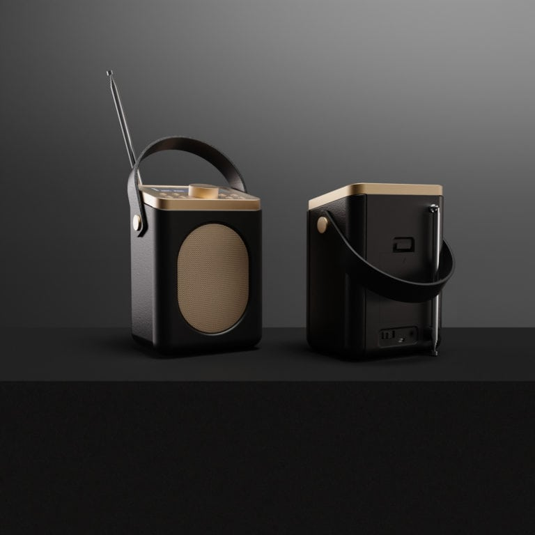 Portable DAB Radio with Bluetooth - Little Shelford Black