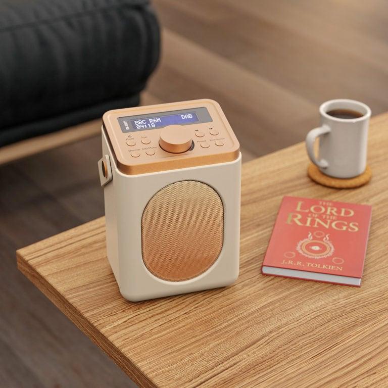 Portable Bluetooth DAB Radio - Little Shelford Cream Lifestyle World Book Day