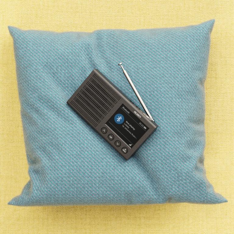 Majority Eddington Portable Bluetooth DAB Radio Lifestyle Bedroom 1