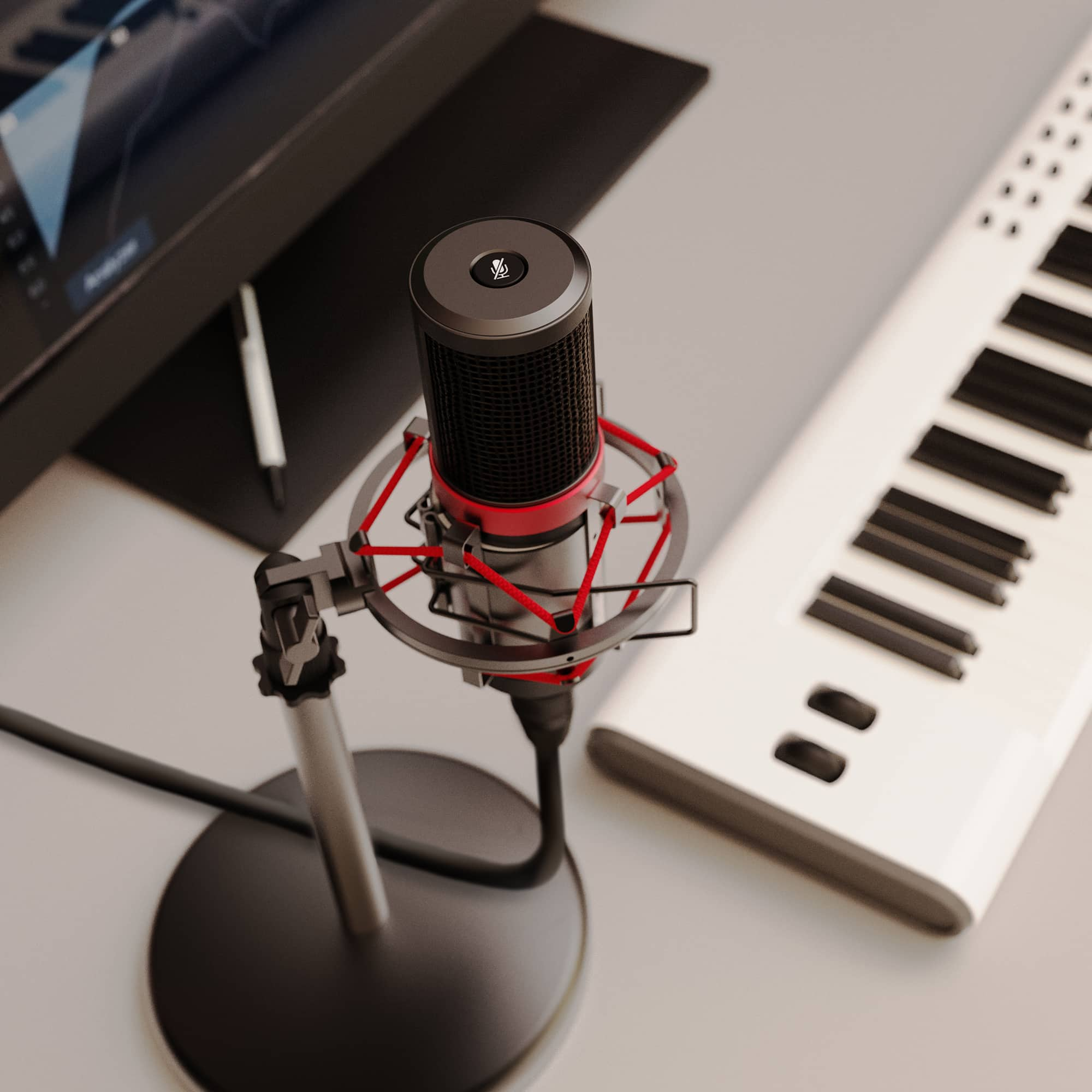 PC Condenser Microphone - RS Pro Lifestyle