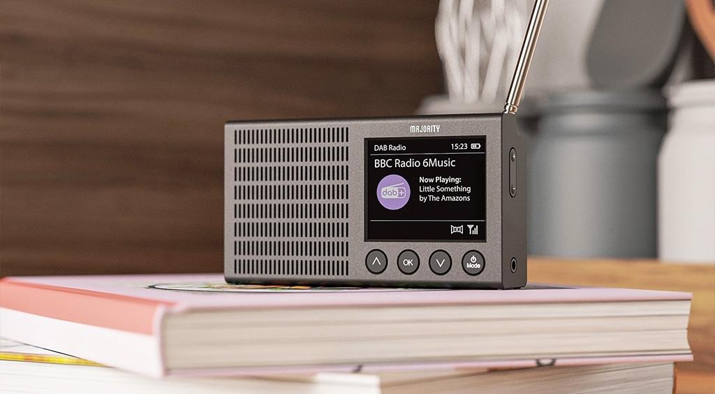 Majority Eddington Portable Bluetooth DAB Radio Lifestyle 2