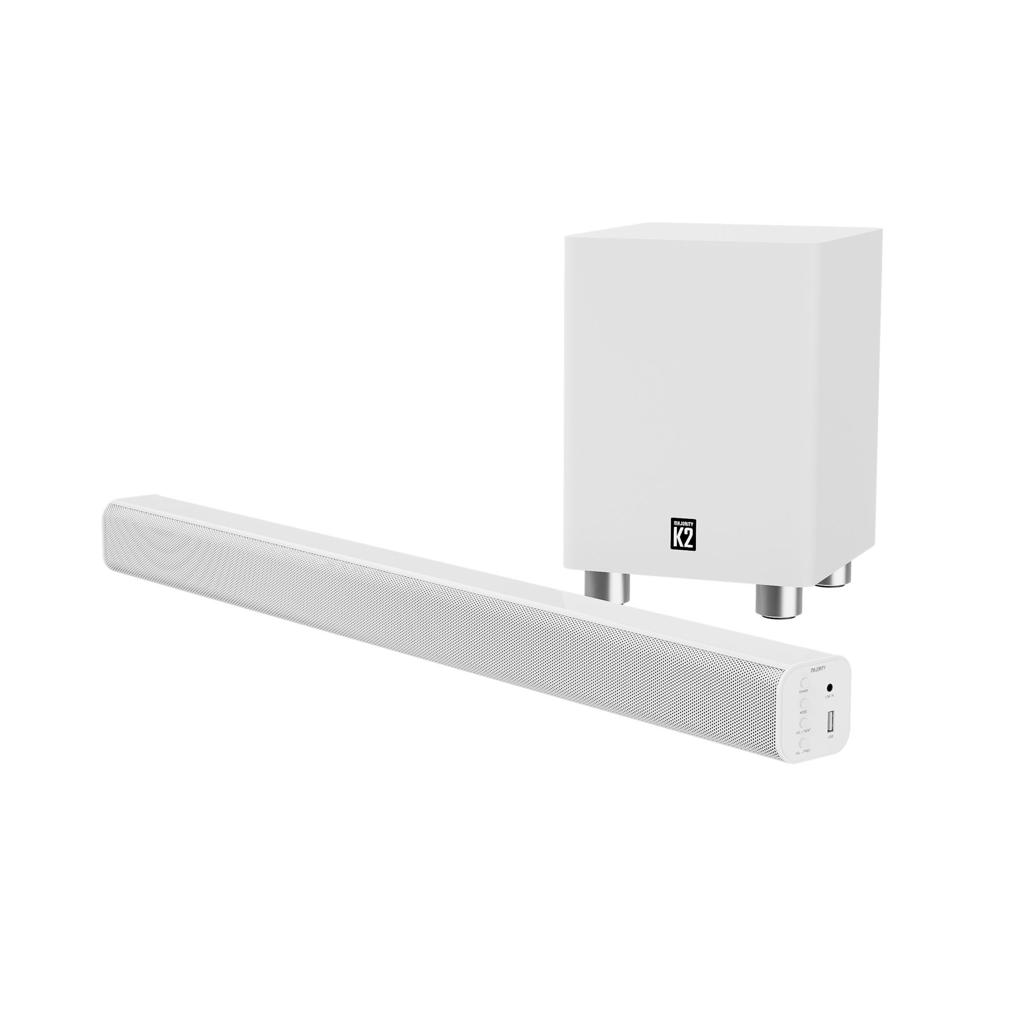 White Soundbar