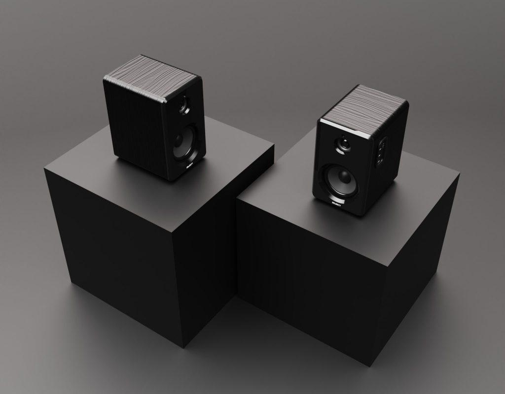 Bookshelf Speakers - D40 Active Speakers Demo